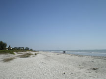 Sanibel beach at West wind INN