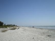 Sanibel beach at West wind INN